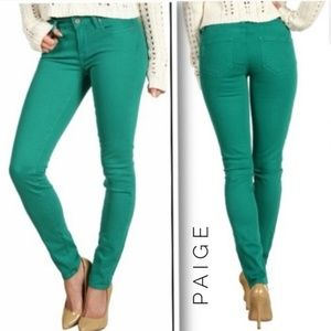 Anthropologie Jeans | Paige Skyline Ankle Peg
